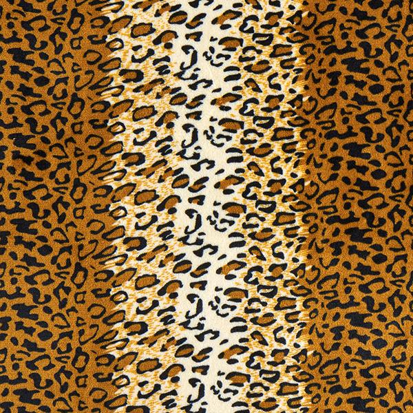 Polaire douillet léopard – ocre