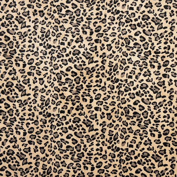 Polaire douillet léopard – marron clair