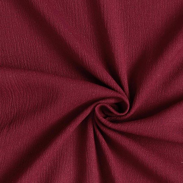 Tissu en crêpe viscose – rouge bordeaux
