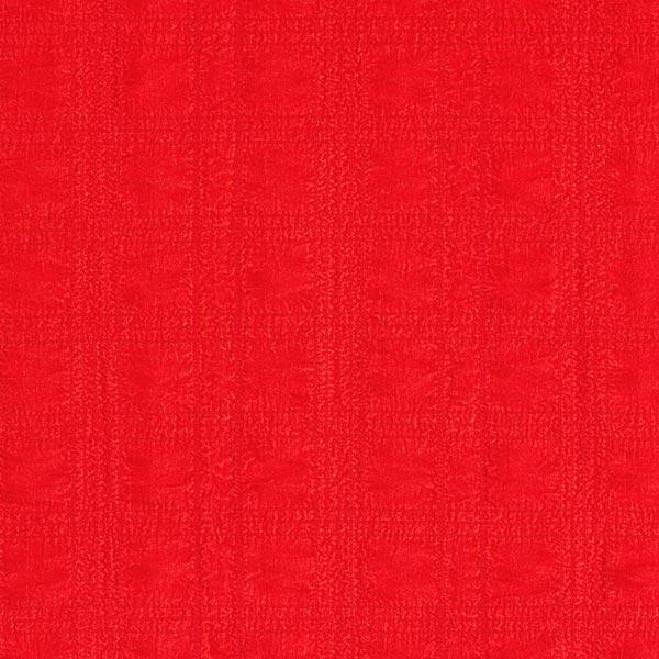 Tissu en polyester seersucker stretch – rouge vif