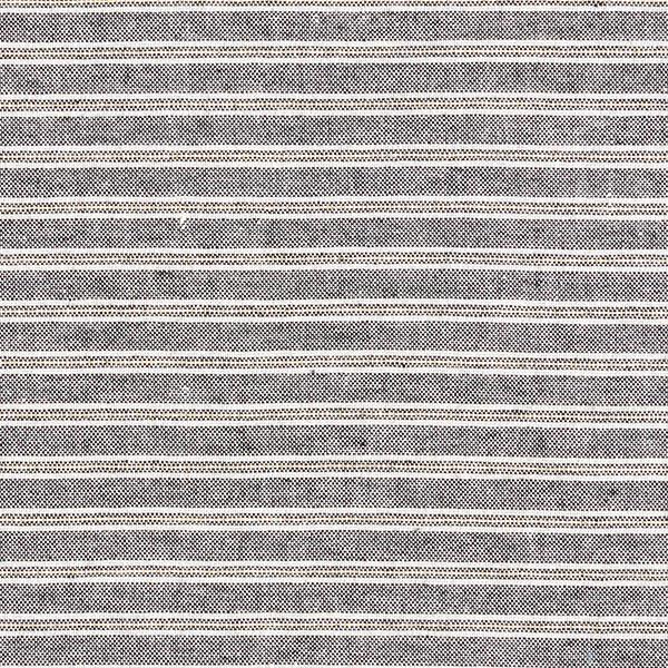 Tissu à rayures Aspect lin avec Lurex – noir