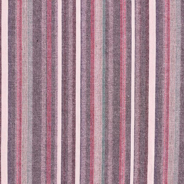 Rayures multicolores Aspect lin – rose