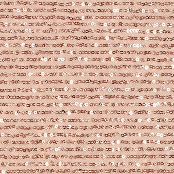 Softmesh Pailletten Kaskade – lachs