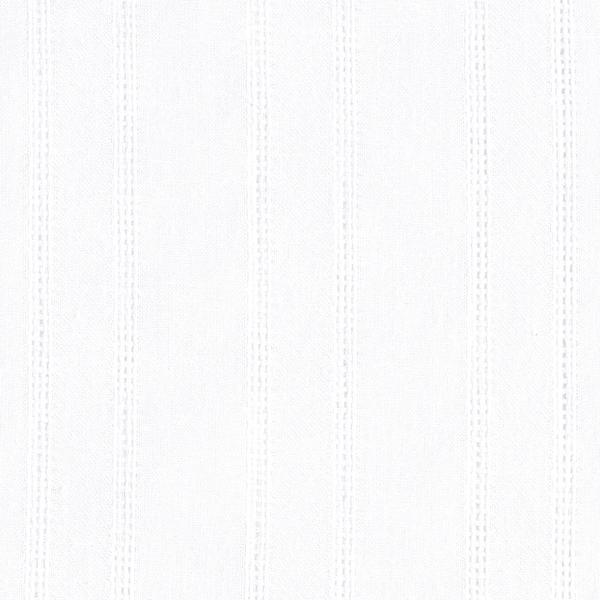 Blusenstoff Voile feine Streifen – weiss
