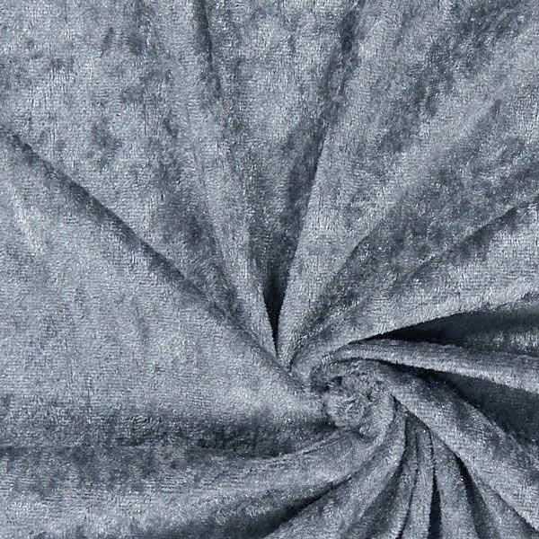Pannesamt - dunkelgrau