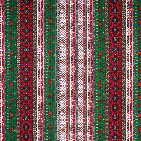 Blusenstoff Mustermix Ornamente – rot