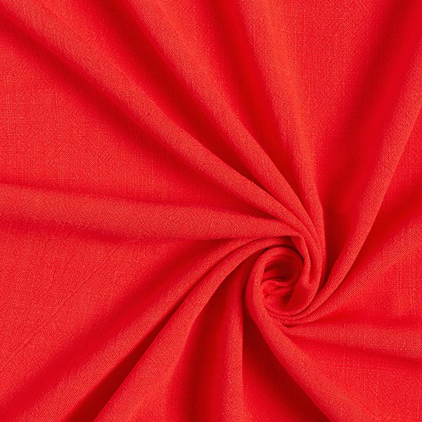 Structure lin viscose – rouge clair