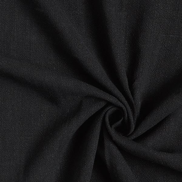 Structure lin viscose – noir