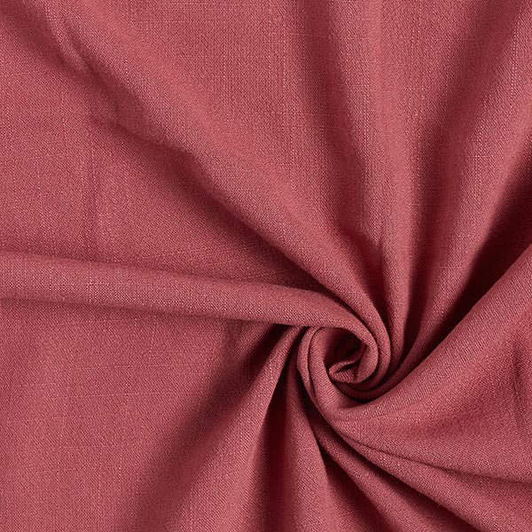 Structure lin viscose – vieux rose