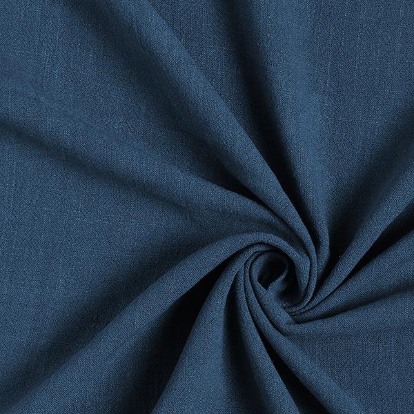 Structure lin viscose – bleu jean