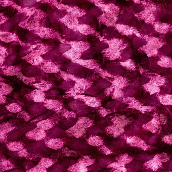 Pannesamt Abstrakte Wirbel – purpur