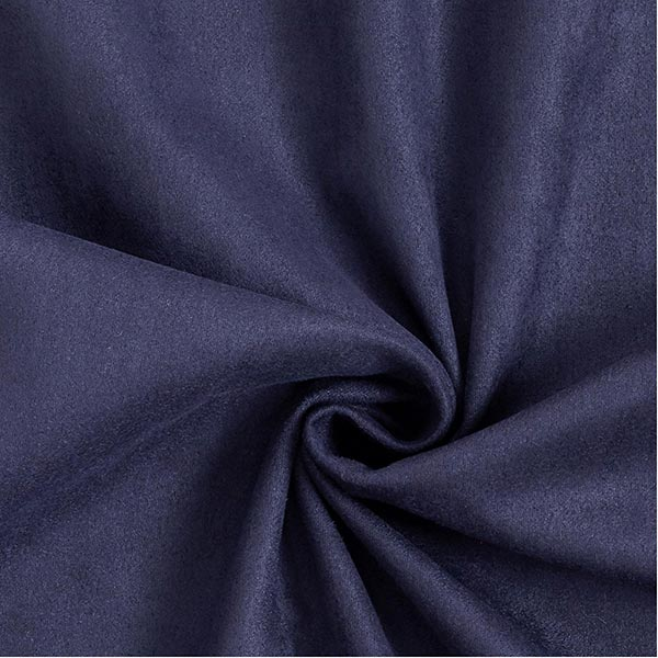 Scuba-Suede Wildlederoptik – marineblau