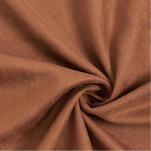 Tissu suédine Scuba aspect daim – caramel