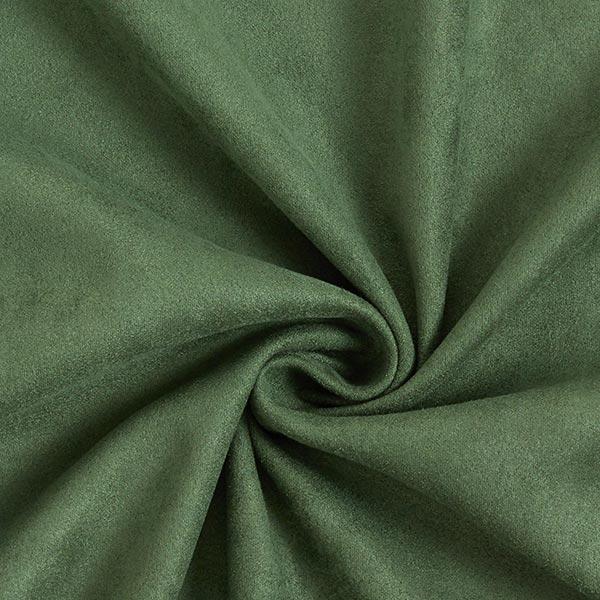 Tissu suédine Scuba aspect daim – vert