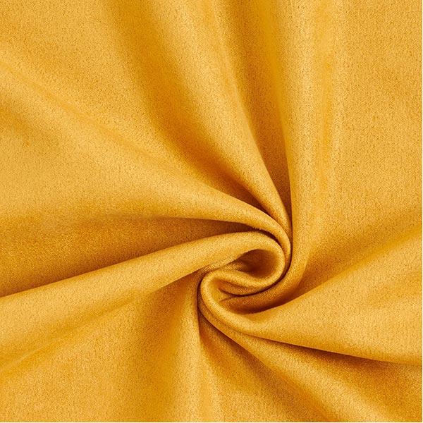 Tissu suédine Scuba aspect daim – moutarde