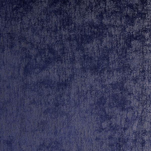 Velours stretch imprimé marbre – bleu marine