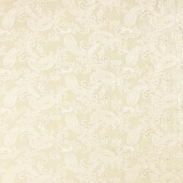 Futterstoff Jacquard Paisley changeant – wollweiss