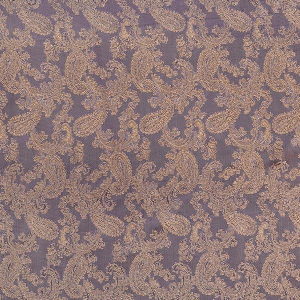 Jacquard tissu de doublure cachemire changeant – bleu acier