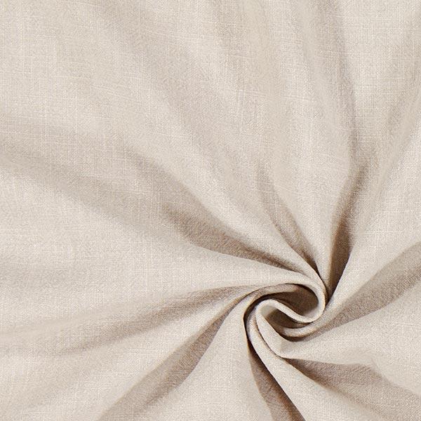 Tissu de lin prélavé – gris clair