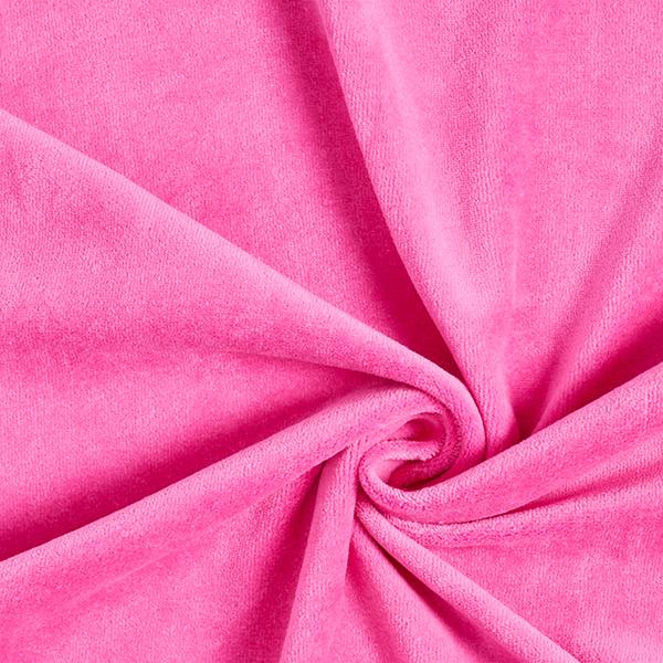 Tissu Nicki Uni – rose vif