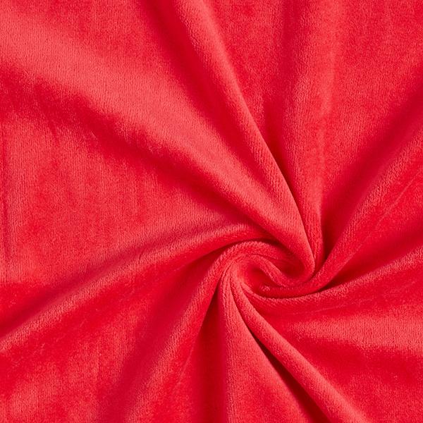 Nicki Stoff Uni – rot