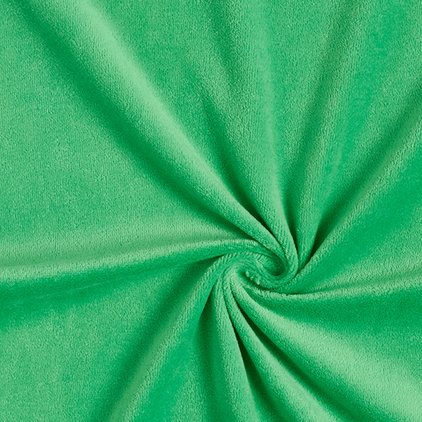 Nicki Stoff Uni – grasgrün