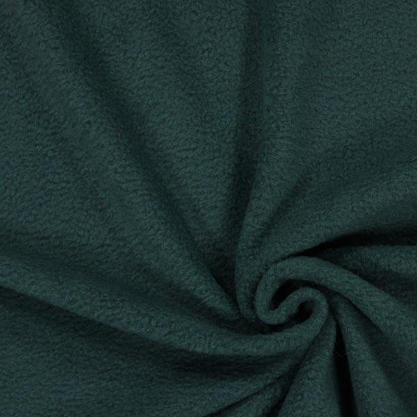 Tissu polaire - vert foncé