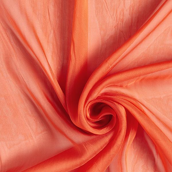 Chiffon de soie Uni – orange