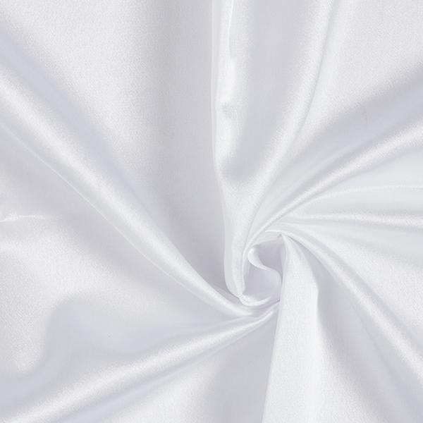 Satin Uni – blanc