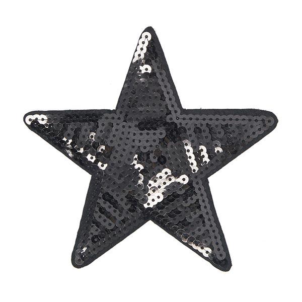 Applikation  Stern 4 (9,5 x 9,5 cm)
