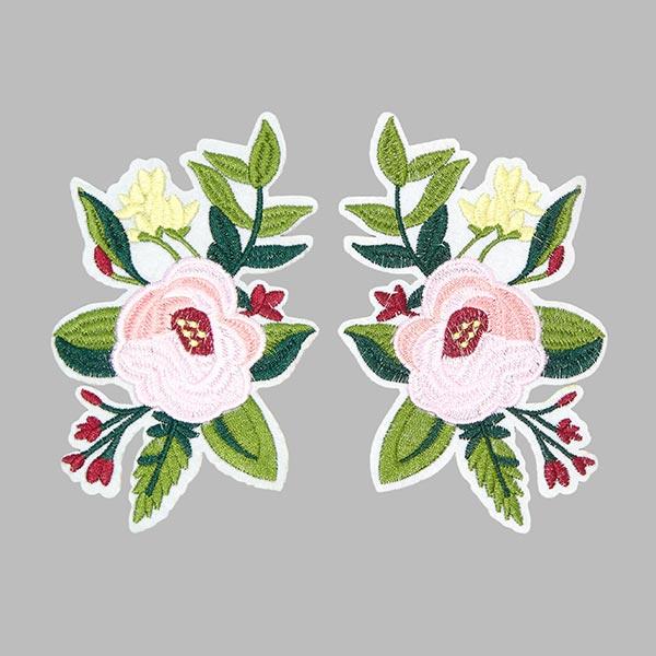 Patchs Fleurs (8,2 x 14,8 cm)