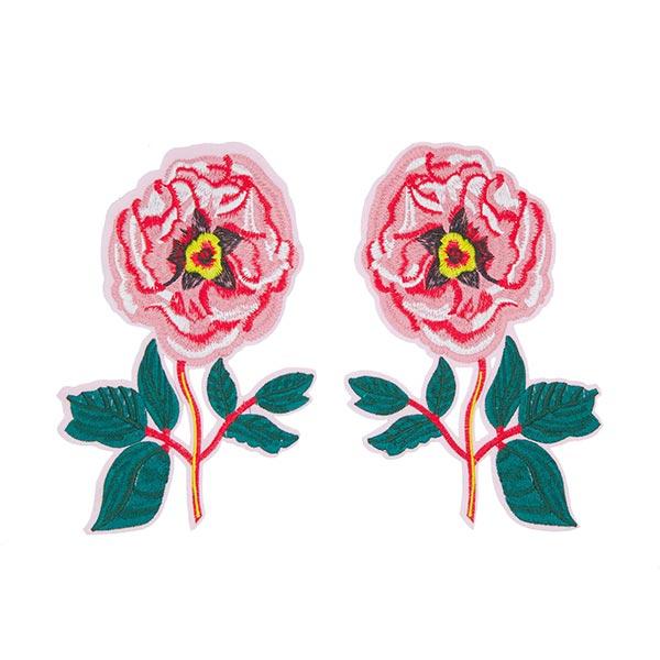 Patchs Roses (14,1 x 20,7 cm) – rose