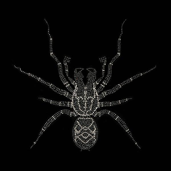 Applikation  Hotfix Spinne (32 x 29 cm)