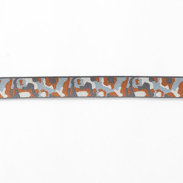 Ruban tissé Camouflage [21 mm] – gris/marron