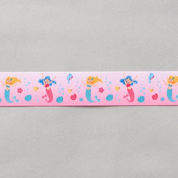 Ruban décoratif Sirène [24 mm] – rose vif