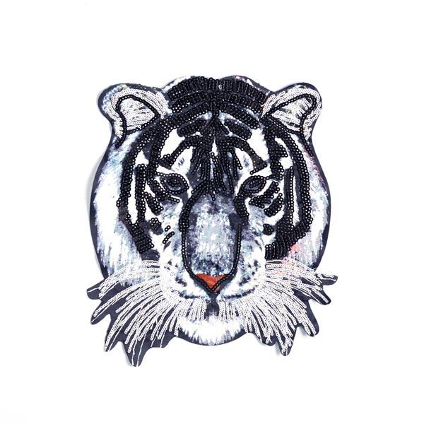 XXL Applikation Tiger
