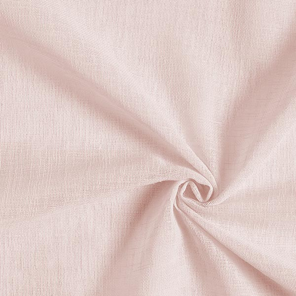 Gardinenstoff Voile Ibiza 295 cm – rosé