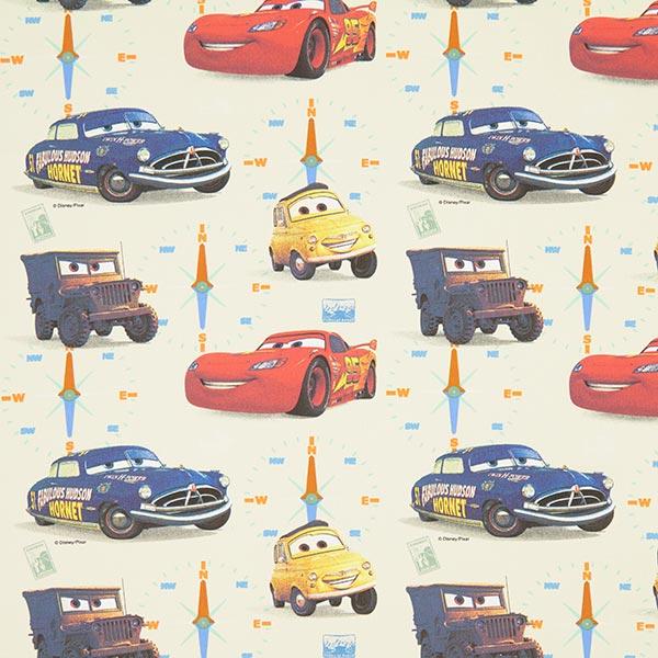 Baumwollstoff Disney Cars 1 – wollweiss