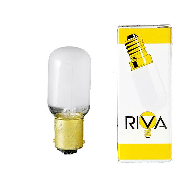 Glühbirne [B15d 220 - 240V 15W] [22 x 57 mm] | RIVA