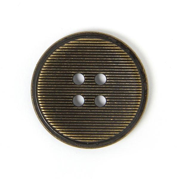 Bouton en métal Fine Stripes 2