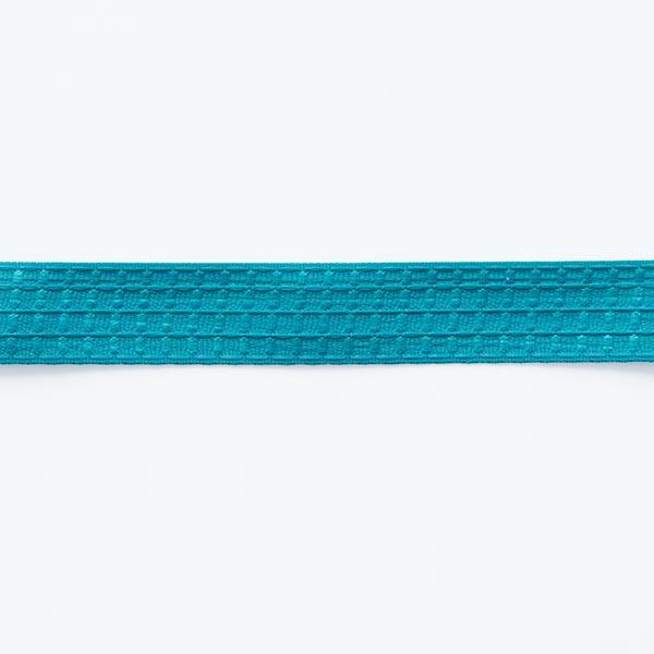Structure du ruban tissé  – bleu turquoise