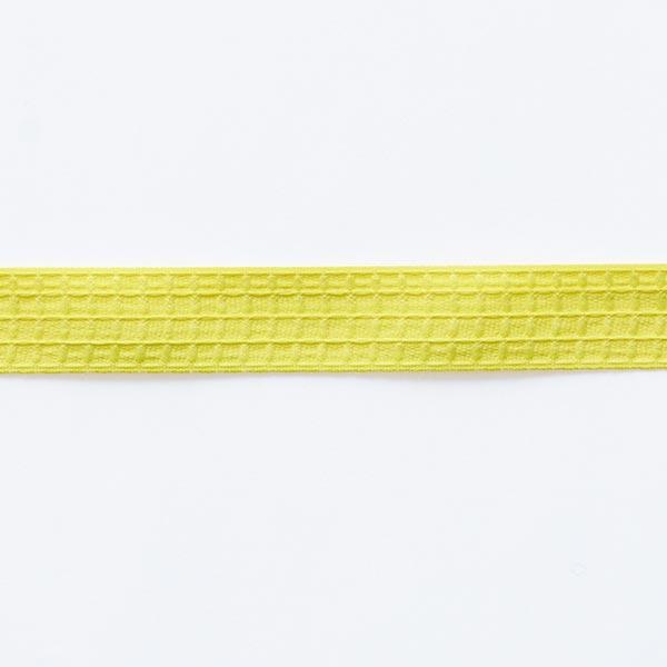Structure du ruban tissé  – jaune