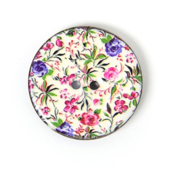 Bouton noix de coco Bouquet de fleurs 1