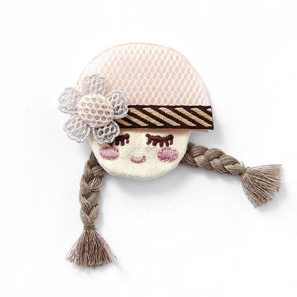Application Petite poupée – rosé/beige