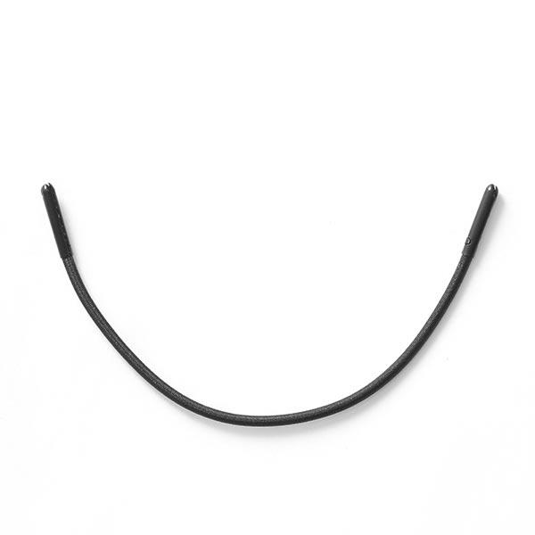 Ruban extensible pour fermetures à glissière – noir