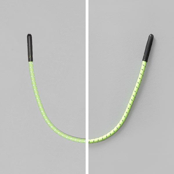 Reflex Ziehband für Reißverschlüsse – neongelb/silber
