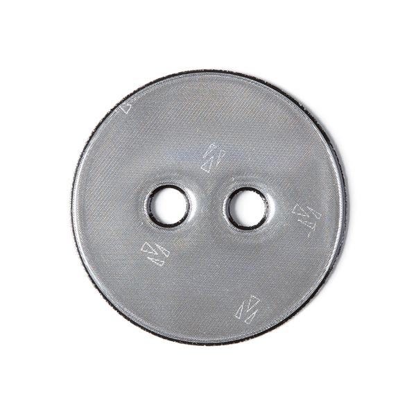 Bouton réflex - gris foncé
