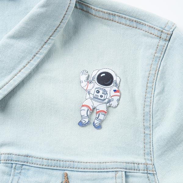 Applikation Astronaut [4 x 6,5 cm]