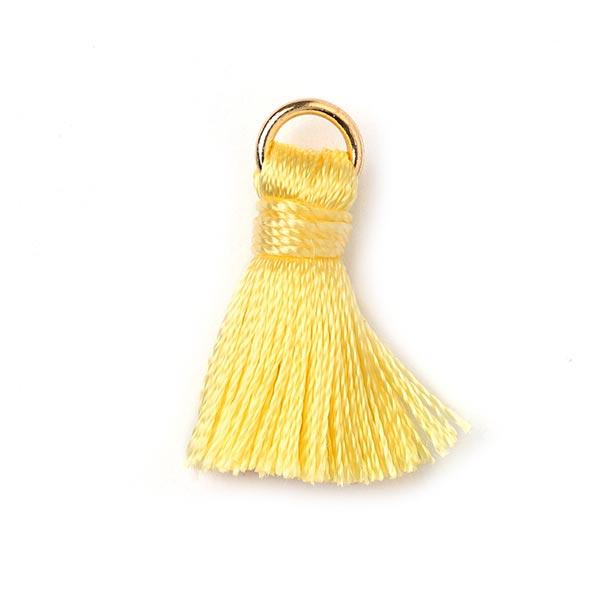 Pompon anneau d'or Minimum [20 mm] - jaune clair