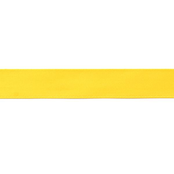 Ruban de satin uni – jaune